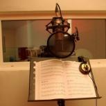 Запись вокала в профессиональной студии, Новосибирск