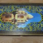 Нарды серии СИРИЯ — Тадж Махал средние, Новосибирск