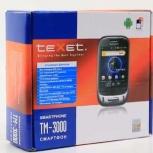 Продам смартфон teXet TM-3000 2 симкарты, Новосибирск