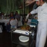 Услуги повара и официанта на выезд. Свадьбы, юбилеи, Новосибирск