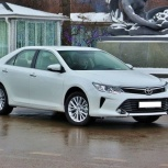 Машина Toyota Camry 2015 на свадьбу на свадьбу / автомобиль, Новосибирск