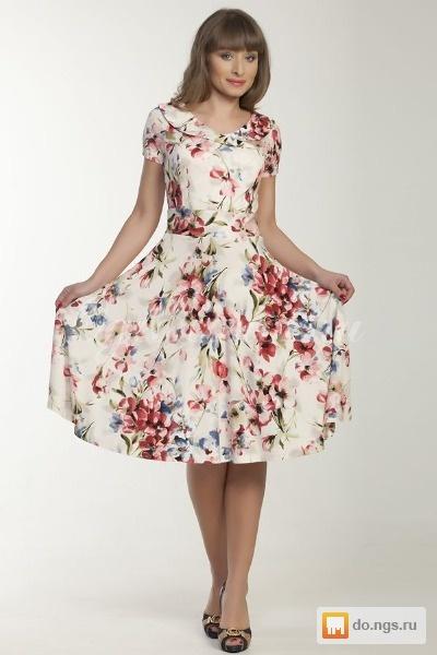 Фото с фасонами летних платьев