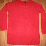 Продам кофту  для беременных красного цвета,теплая, р. 40-44, Новосибирск