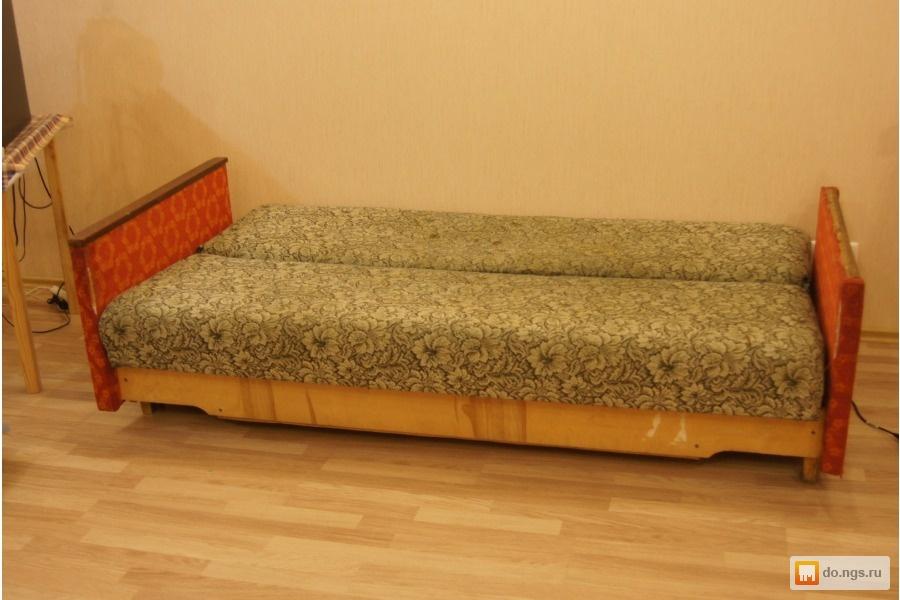 Из старой кровати диваны