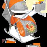 Санки-коляска ника детям 6 нд6, Новосибирск