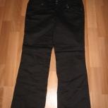 Продам брюки для беременной черного цвета, р.40-42, Новосибирск