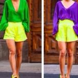 комплект шорты и блузка из хлопка, Новосибирск