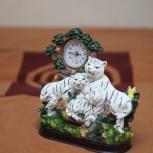 Часы Тигриное семейство, Новосибирск