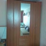 Шкаф 3-х секционный с зеркалом, Новосибирск
