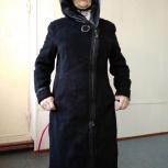 Плащ замшевый с кожаными вставками, Новосибирск