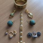 Продам набор женской бижутерии (б/у), Новосибирск