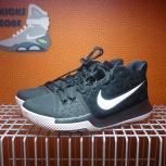 Новые баскетбольные кроссовки Nike Kyrie 3 Black Suede, Новосибирск