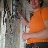Электрик! Электромонтажные работы. Электрик от часа до конца., Новосибирск