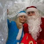 Аниматоры Дед Мороз и Снегурочка, Новосибирск