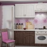 Кухонный гарнитур Монако орех (2.1 м), Новосибирск