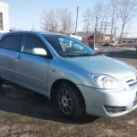 На газе. Аренда авто Toyota-Runx, Allex, Camry, Honda Fit, Новосибирск