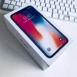 iPhone X 64gb Серебро, Новосибирск