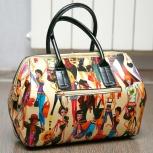 Продам цветную лаковую сумку, кожзам, Новосибирск