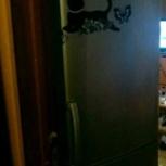 2 метра.С электронным дисплеем холодильник lg, Новосибирск