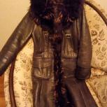 Дубленка женская в отличном состоянии, Новосибирск