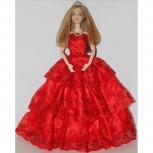 Кукла шарнирная в красном платье (matel2011), Новосибирск