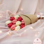 Букет из шоколадных тюльпанов (11 шт), Новосибирск