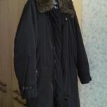 Пуховик пальто воротник из натурального меха 52 р.City classic, Новосибирск