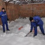 Уборка и вывоз снега очистка крыш от снега и наледи, Новосибирск