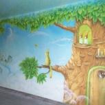 Аэрография, флуоресцентная роспись, роспись стен и потолков, Новосибирск