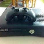 Xbox 360 slim с двумя джойстиками и играми, Новосибирск