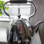 Чайник не электрический никель новый, Новосибирск