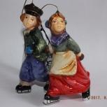 "Продам елочную игрушку mostowski ""Пара на катке"", Новосибирск"