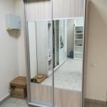 Шкаф-купе с зеркалом (120 см.), Новосибирск