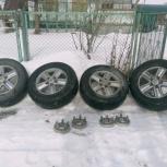 Продам шины с дисками R18, Новосибирск
