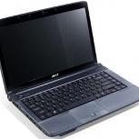 ноутбук acer 4736-663g25mi intel core2duo t6600 x2, Новосибирск