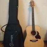Продам акустическую гитару CRAFTER D-6/N, Новосибирск
