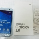 смартфон Samsung Galaxy A5 2017 SM-A520F 32Gb, Новосибирск