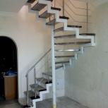 Изготовление лестниц разной сложности, Новосибирск