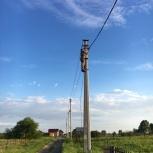 Подключение электричества к дому от столба в Новосибирске ЛЭП СИП, Новосибирск
