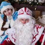 Аниматоры. Дед Мороз и Снегурочка, Новосибирск
