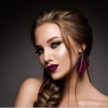 Перманентный макияж бровей, губ и век на выбор, Новосибирск