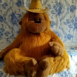 Большая мягкая игрушка - обезьяна, Новосибирск