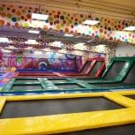 Батутная арена (секция 5х3м) UniTramp, Новосибирск