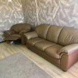 Диван и кресло - реклайнер марсель 2 формула дивана, Новосибирск