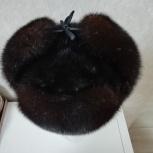 Новая норковая мужская шапка, Новосибирск