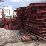 Металл. Металлоконструкции для возведения здания, Новосибирск