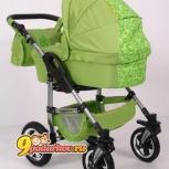 Продам коляску тако джампер 2 в 1 зеленая очень красивый цвет яркий, Новосибирск