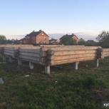 Фундамент на жб сваях под дом, коттедж, баню за 1-2 дня, Новосибирск