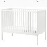 Продам детскую кроватку б/у в хорошем состоянии, Новосибирск