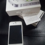 Apple iPhone 4S 8Gb White (хорошее состояние), Новосибирск